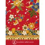 ผ้าถุงแม่พลอย mp0120 แดง