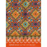 ผ้าถุงเอมจิตต์ ec11447 ส้ม