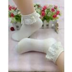 ถุงเท้า-สีขาว