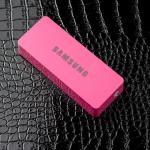 แบตสำรอง Power bank iPower 6000 mAh Samsung สีชมพู