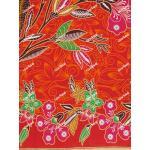 ผ้าถุงเอมจิตต์ ec11430 แดงส้ม