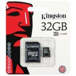 Kingston Memory Micro SD Card Class 10 - 32 GB