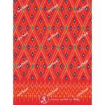 ผ้าถุงแม่พลอย mp2569 แดง