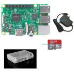 Raspberry Pi 3 Model B (Rpi Kit 4) ของแท้ UK (New Model 2016) clear Case