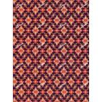 ผ้าลายไทย no.0043 สีม่วง