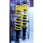 โช้คอัพหลังคู่ YSS รุ่น All NewTop Up 340 สำหรับ Honda Wave สี ดำ/เหลือง
