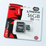Kingston Memory Micro SD Card Class 4 - 16 GB
