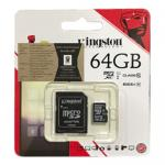 Kingston Memory Micro SD Card Class 10 - 64 GB