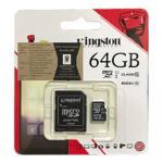 Kingston Memory Micro SD Card Class 10 - 64 GB