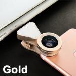 เลนส์+แฟลช LQ-035 สีทอง