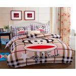 ชุดผ้าปูที่นอน 5 ชิ้นพร้อมผ้านวมหนา ลายพอลแฟร้ง(Paul Fank) มี 3 ขนาด สำเนา