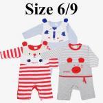 ชุดเด็กอ่อน mon OURS สัตว์ babies Size 6/9