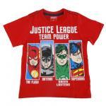 เสื้อยืดเด็ก jUSTICE LEAGUE สีแดง - Size 8