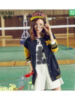 สินค้าพรีออเดอร์!!! เสื้อกีฬาเบสบอล Semir 2016 Hitz