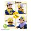 หมวกแก๊ปเด็ก และผ้าพันคอเด็ก ลายตาหน้าการ์ตูน thumbnail 2