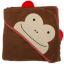 Skip Hop ผ้าเช็ดตัว ผ้าขนหนู ลายสัตว์น่ารัก ลายลิง thumbnail 2