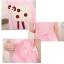 ชุดคลุมท้องกระโปรงสีชมพูลายแกะ เปิดให้นมได้ - PJ0018 thumbnail 2