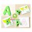 จิ๊กซอว์ตัวอักษรไม้ A-Z 26 ตัว พร้อมบัตรคำศัพท์ thumbnail 4