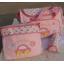 กระเป๋าสัมภาระคุณแม่ รูปรถสีชมพู มี 3 ชิ้น thumbnail 1