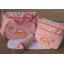 กระเป๋าสัมภาระคุณแม่ รูปรถสีชมพู มี 3 ชิ้น thumbnail 2