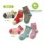 ถุงเท้าเด็กลายสีสัน มีพื้นกันลื่น 001 ขนาด 12-15cm เซต 3 คู่ thumbnail 1