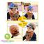 หมวกแก๊ปเด็ก และผ้าพันคอเด็ก ลายตาหน้าการ์ตูน thumbnail 5