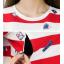 เสื้อคนท้องT-shirt คอกลมลายขวาง เปิดให้นมได้ - TBD1701 thumbnail 4