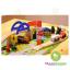 เมืองจราจรรถรางไม้ 40 ชิ้น Rail Overpass thumbnail 1
