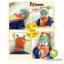 หมวกเด็กผ้ายืด และผ้าพันคอเด็ก ลายหนอนน้อย thumbnail 2