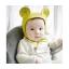 หมวกเด็กคลุมหัว ทรงหูกระต่าย มีเชือกผูกใต้คาง thumbnail 2