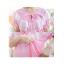 ชุดนอนกระโปรงคนท้องชายระบาย ประดับลูกไม้หน้าอก เปิดให้นมได้ - PJ0004 thumbnail 3