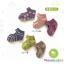 ถุงเท้าเด็กแบบเว้าด้านหลังเท้า มีพื้นกันลื่น ขนาด 9-12cm เซต 3 คู่ thumbnail 1