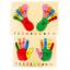 แผ่นไม้จิ๊กซอว์เรียนรู้ส่วนประกอบของมือ และเท้า thumbnail 1