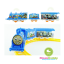 รถไฟฟ้าวิ่งราง Thomas Train Play Set thumbnail 2