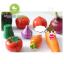 บล็อคไม้จิ๊กซอว์ผักผลไม้ + มีดหั่น thumbnail 4