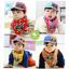 หมวกแก๊ปเด็ก และผ้าพันคอเด็ก ลายตาหน้าการ์ตูน thumbnail 1