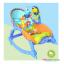 เปลโยกมีระบบสั่น New born-to-Toddler Portable Rocker thumbnail 3