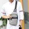 Pre-order กระเป๋าผู้ชายคาดอกแฟชั่นเกาหลี ใส่ ipad 8 นิ้ว รหัส Man-2492