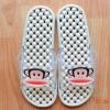K011-GY **พร้อมส่ง** (ปลีก+ส่ง) รองเท้านวดสปา เพื่อสุขภาพ ปุ่มเล็ก ลิง Pual Frank สีเทา ส่งคู่ละ 150 บ.