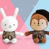 ตุ๊กตา NEUKKUN & HAYANG Small Set ขนาด 15 cm