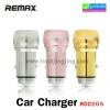 ที่ชาร์จ ในรถ Remax Car Charger 2 USB รุ่น RCC205