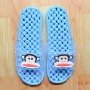 K011-SBL **พร้อมส่ง** (ปลีก+ส่ง) รองเท้านวดสปา เพื่อสุขภาพ ปุ่มเล็ก ลิง Pual Frank สีฟ้า ส่งคู่ละ 150 บ.