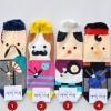 A031**พร้อมส่ง**(ปลีก+ส่ง) ถุงเท้าแฟชั่นเกาหลี ข้อสูง มีหมวก มี 4 แบบ เนื้อดี งานนำเข้า( Made in Korea)