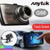 กล้องติดรถยนต์ Anytek G66 Touch screen 2 กล้อง หน้า/หลัง ราคา 1,820 บาท ปกติ 4,550 บาท
