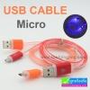 สายชาร์จ Micro USB LED