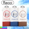 สายชาร์จ iPhone 5,6,7 Recci RCL-M100 ราคา 120 บาท ปกติ 360 บาท