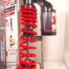 (Click 125 i) โช้คอัพหลังเดี่ยว YSS รุ่น G2 สำหรับ Honda Click 125i,Zoomer X สี ดำ/แดง