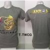เสื้อยืด ทีมชาติไทย ลาย We Are Thailand สีเทา T-TWCG