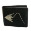 กระเป๋าสตางค์ปลากระเบน รูปด้านหน้าเป็นปลากระเบน เต็มตัวLine id : 0853457150