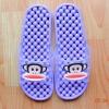 K011-PU **พร้อมส่ง** (ปลีก+ส่ง) รองเท้านวดสปา เพื่อสุขภาพ ปุ่มเล็ก ลิง Pual Frank สีม่วง ส่งคู่ละ 150 บ.